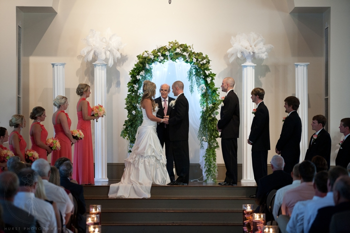 Wedding Ceremony with cylinders @ UAW Hall in Spring Hill, TN ...